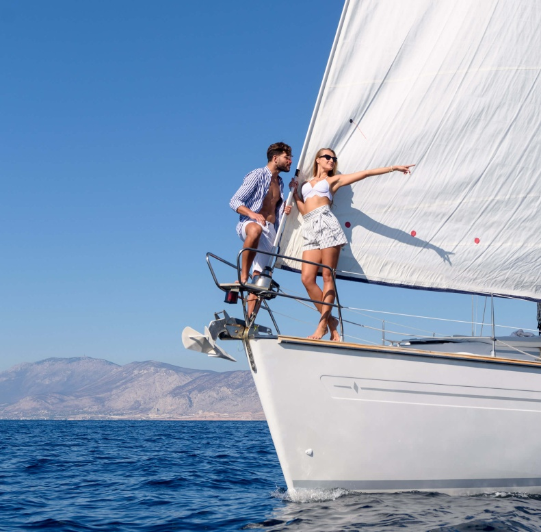 Private Santorini Sailing Cruise
